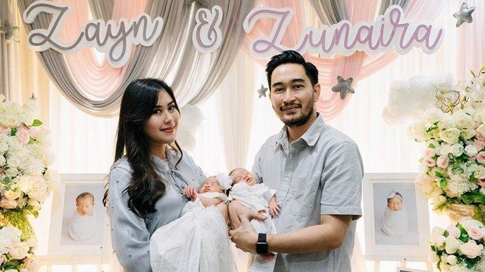 Syahnaz Sadiqah Pamer Potret Bayi Laki-lakinya, Wajah Zayn yang Belepotan Bercak Merah Jadi Sorotan
