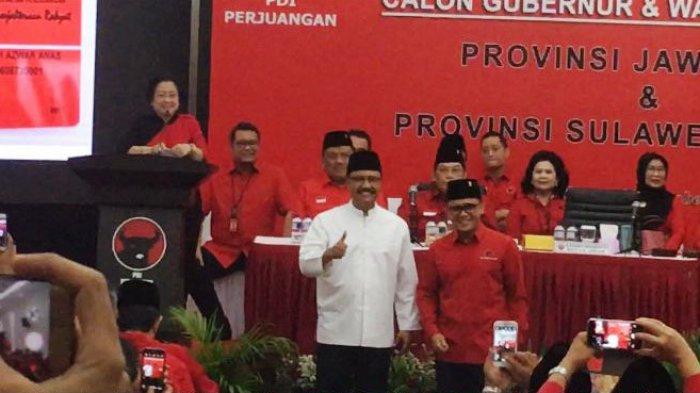 Usung Gus Ipul-Azwar Anas, PDIP Dinilai Mainkan Politik yang Berbeda Pilihan dengan Istana