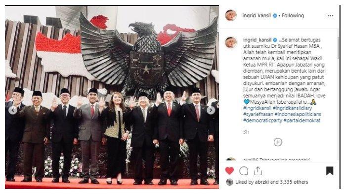 Syarief Hasan Resmi Menjabat sebagai Wakil Ketua MPR