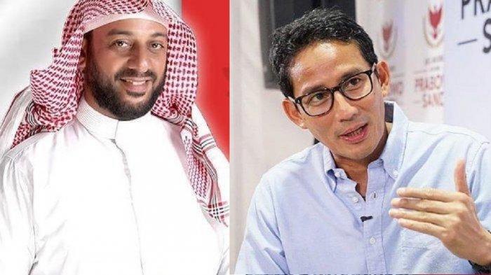 Sandiaga Uno Bagikan Momen Terakhir Bertemu Syekh Ali Jaber, Saling Berpelukan Erat