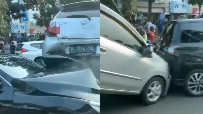 Kesaksian Warga Lihat Tabrakan Beruntun di Bintaro, Mobil Ayla Sampai Terangkat