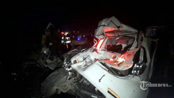 Brigadir Polisi dan Keluarganya Korban Kecelakaan Beruntun di Batang
