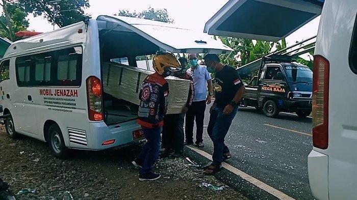 Ambulan Pengantar Jenazah Terlibat Tabrakan Beruntun di Pangandaran