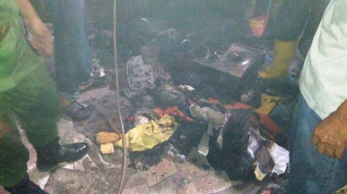 Dapur Rumah di Bandung Berantakan Gara-gara Tabung Gas 3kg Meledak