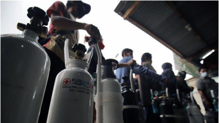 Lonjakan jumlah Covid-19 membuat kebutuhan oksigen di dalam negeri meningkat.  Untuk memenuhi kebutuhan (Shutterstock)