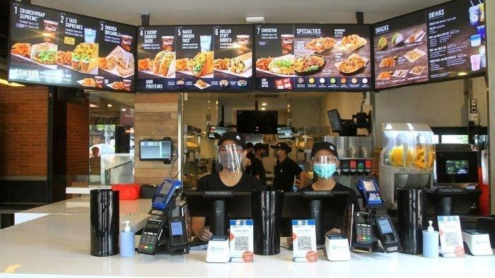 Taco Bell telah membuka gerai pada 18 Desember dvav