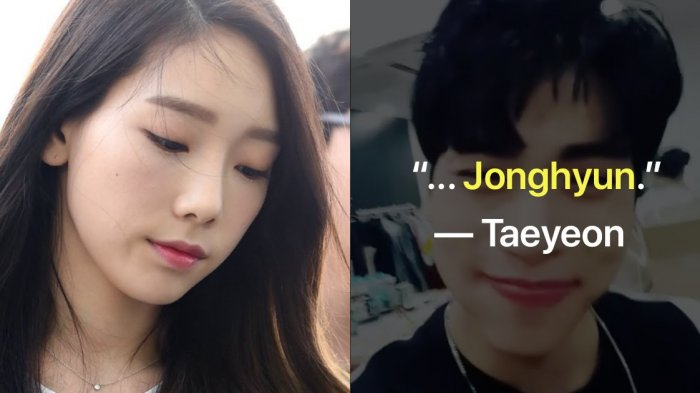 Taeyeon Tulis Pernyataan Memilukan pada Postingan Lama Jonghyun di Instagram, Fans Ikut Menangis