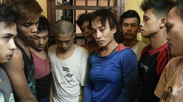 Berikut Kronologis Kaburnya 14 Tahanan Polsek Bukit Raya