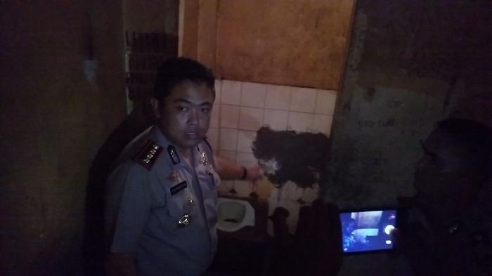 Potongan Besi Diduga Diambil Tahanan Dari Dinding Kamar Mandi