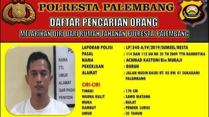 Hampir 2 Minggu, 12 Tahanan yang Kabur dari Polresta Palembang Masih Berkeliaran