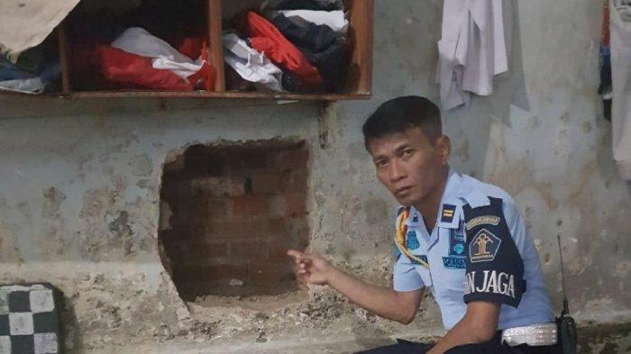 5 Tahanan Ketahuan Jebol Tembok Rutan Kelas IA Surakarta, Lubang Ditutup Sajadah