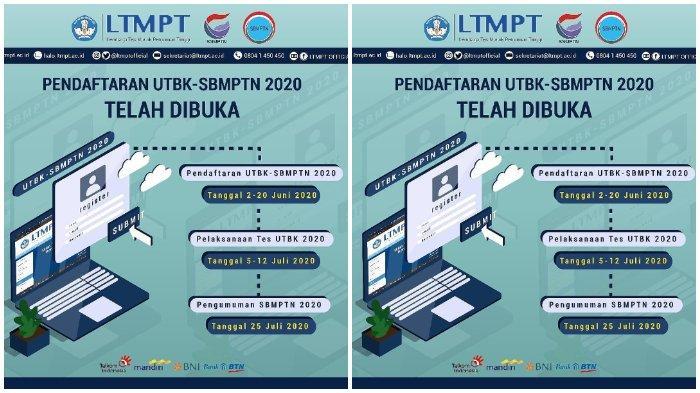 Update Pendaftaran UTBK-SBMPTN 2020: 643.286 Peserta Telah Cetak Kartu, Penutupannya 2 Hari Lagi.