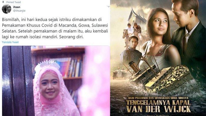 Tahu Istri Akan Pergi Karena Corona Suami Dapat Firasat Lewat Film Tenggelamnya Kapal Van Der Wijck Tribunnews Com Mobile