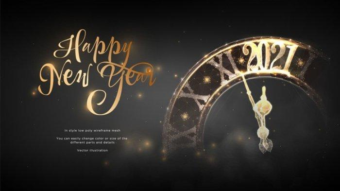 Kumpulan Quotes Dan Ucapan Selamat Tahun Baru 2021 Lengkap Bahasa Indonesia Dan Bahasa Inggris Tribunnews Com Mobile