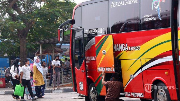 Pelarangan Mudik, Aktivitas Bus AKAP dan AKDP Dihentikan Kecuali di Pulo Gebang dan Kalideres