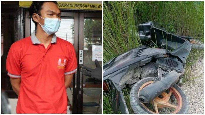 Tak Kuat Susun Laporan, Anggota Karang Taruna Buat Drama Pembegalan, Tinggalkan Motor di Bukit Kapur
