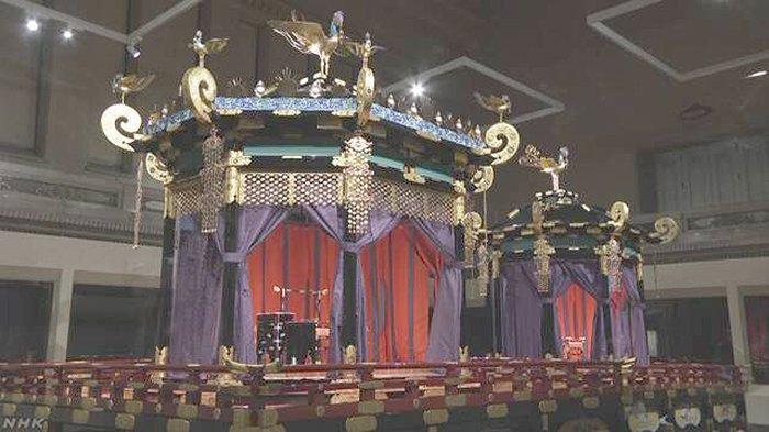 Takamikura, Tempat Duduk Penobatan Kaisar Baru Jepang Boleh Dilihat untuk Umum Mulai Hari Ini