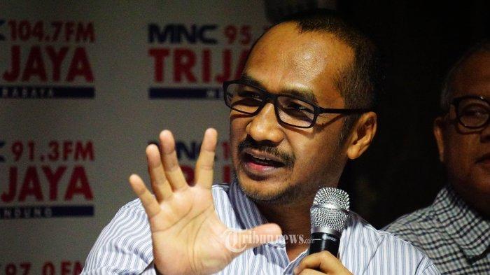 Mantan Ketua Komisi Pemberantasan Korupsi (KPK) Abraham Samad TRIBUNNEWS.COM/IQBAL FIRDAUS