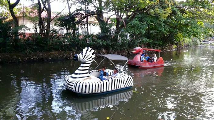 Taman Maskot Banjarmasin, Surga bagi Anak-anak