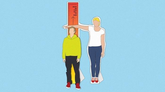 Ilustrasi tambah tinggi badan