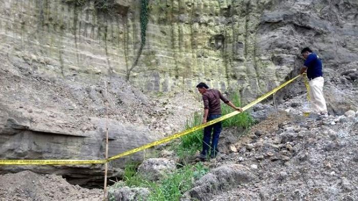 Ilustrasi tambang emas liar di Bogor