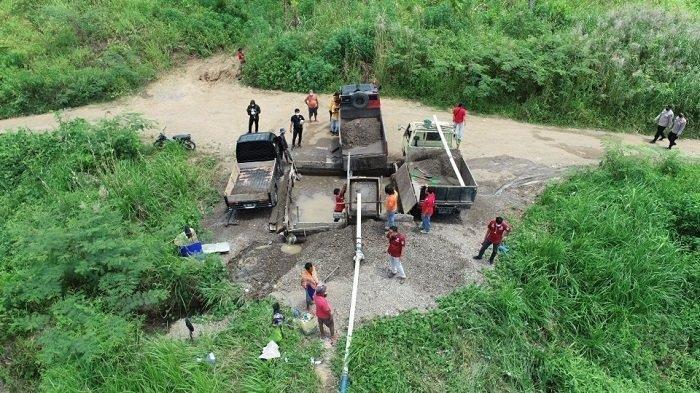 Terlibat Penambangan Pasir Ilegal Gunakan Dompeng, 2 Oknum Kades di Lahat Berurusan dengan Polisi