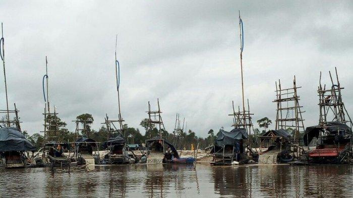 Penambangan Timah Ilegal di Daerah Aliran Sungai Makin Marak