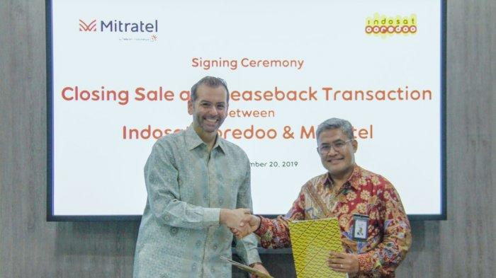Indosat Selesaikan Transaksi Penjualan 2.100 Menara ke Mitratel