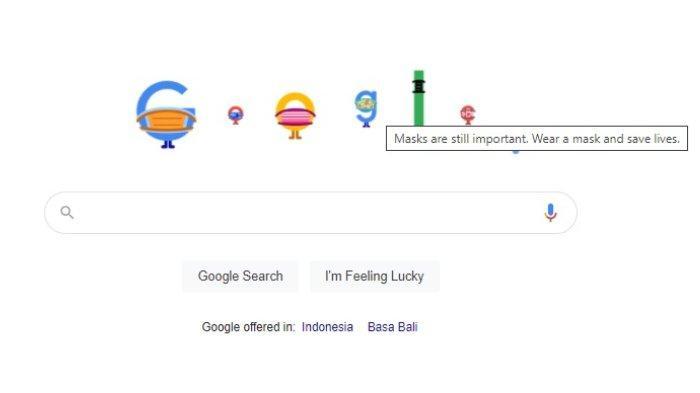 Tampilan Google Doodle 6 April 2021.