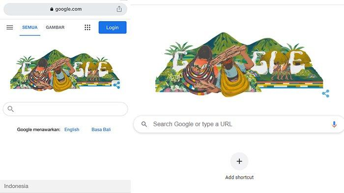 Google Doodle Hari Ini Tampilkan Noken Papua, Berikut Cara Membuat Noken Papua
