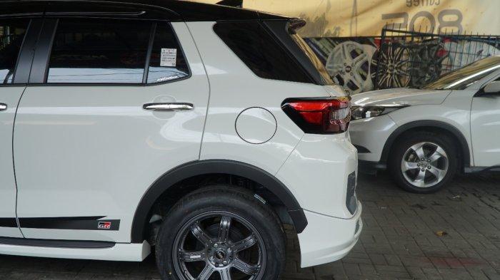 Tampilan SUV Toyota Raize