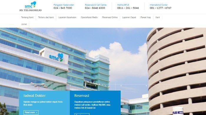 Lowongan Kerja Rumah Sakit Telogorejo Semarang Formasi Dokter Spesialis Hingga Apoteker Tribunnews Com Mobile