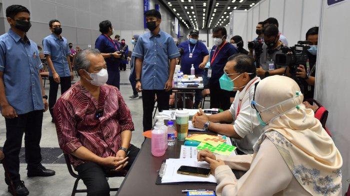 PM Muhyiddin Yassin Yakin Malaysia akan Mencapai Kekebalan Kelompok sesuai Jadwal
