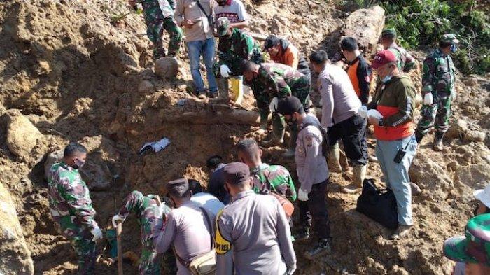 BNPB: Korban Tanah Longsor Tapanuli Selatan jadi Delapan Orang
