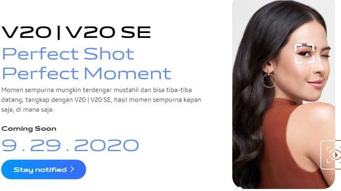 Vivo V20 dan V20 SE Akan Diluncurkan di Indonesia pada 29 September Mendatang, Ini Bocorannya
