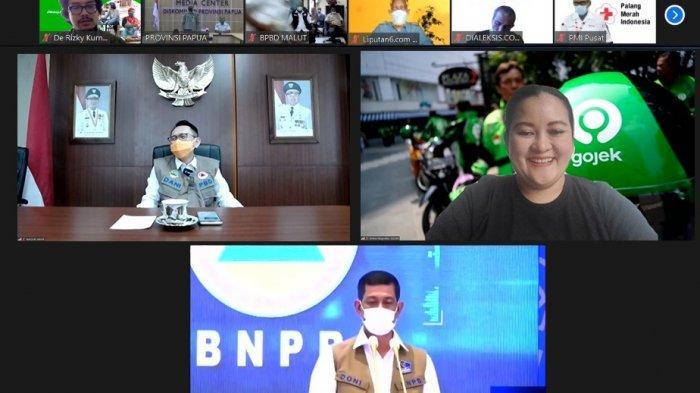 Tanggap Bantu Penanggulangan Bencana, Gojek Raih Penghargaan dari BNPB