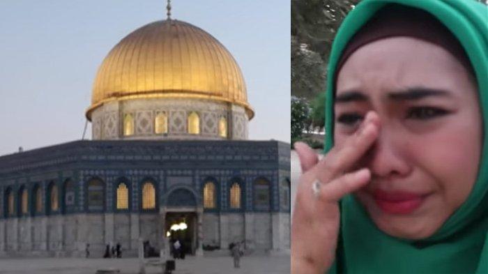 Tangis Oki Setiana Dewi Saat Pertama Kali Kunjungi Masjid Aqso Palestina