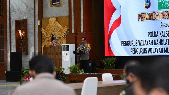 Tangkal Radikalisme dan Terorisme, Polda Kalsel Gandeng NU dan Muhammadiyah