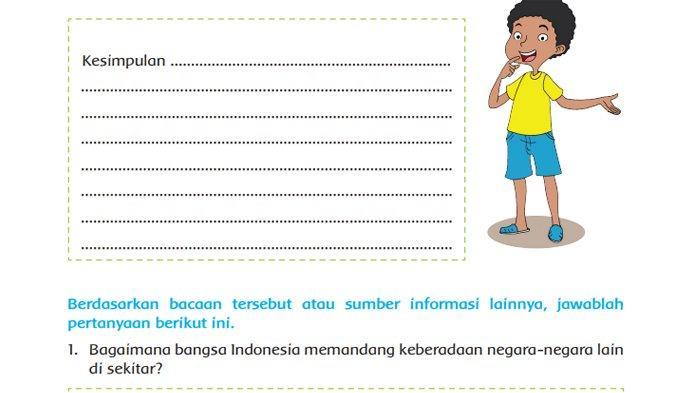 Bagaimana Bangsa Indonesia Memandang Keberadaan Negara-negara Lain di Sekitar? Tema 5 Kelas 5 SD