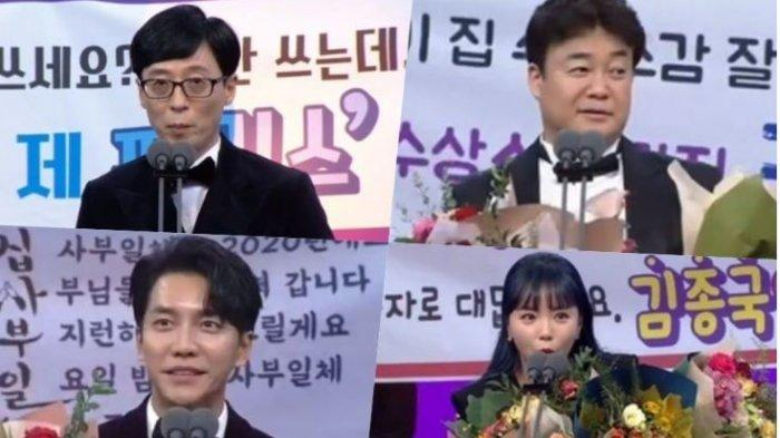 Daftar Pemenang SBS Entertainment Awards 2019, Yoo Jae Suk Bawa Pulang Daesang