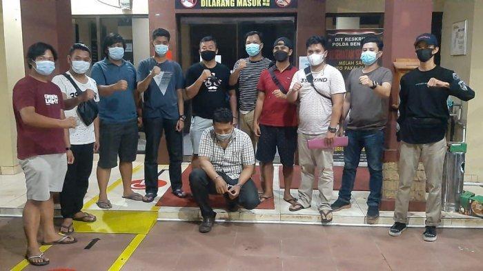 Polres Kepahiang dan Jatanras Polda Bengkulu Tangkap DPO Tersangka Pemerasan atau Penipuan