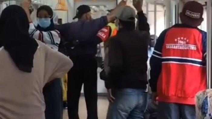 VIRAL Penumpang Pancing Keributan di KRL karena Ingin Merokok, Ditegur Petugas Malah Melawan