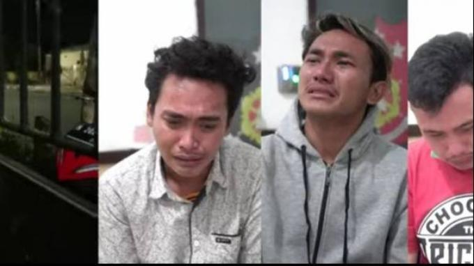 Viral 3 Pemuda Hina Satgas Covid-19 Probolinggo, Minta Maaf Sambil Menangis, Ini Faktanya