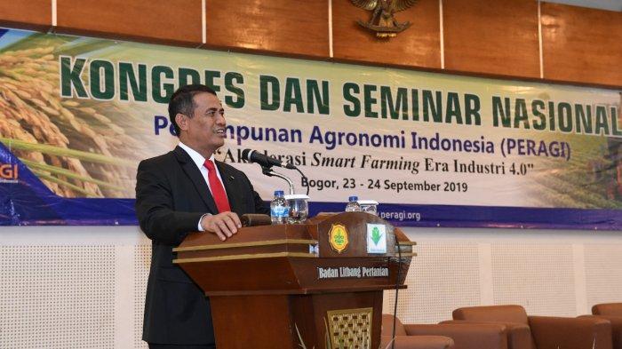 Mentan Amran Tantang Ahli Agronomi Hasilkan Inovasi Pertanian 4.0
