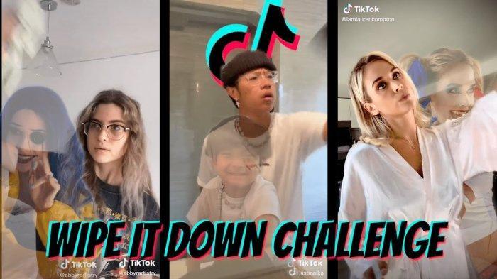 Tutorial Video Wipe It Down Challenge di TikTok, Ini Link Download Lagunya  dan Cara Editnya - Tribunnews.com Mobile