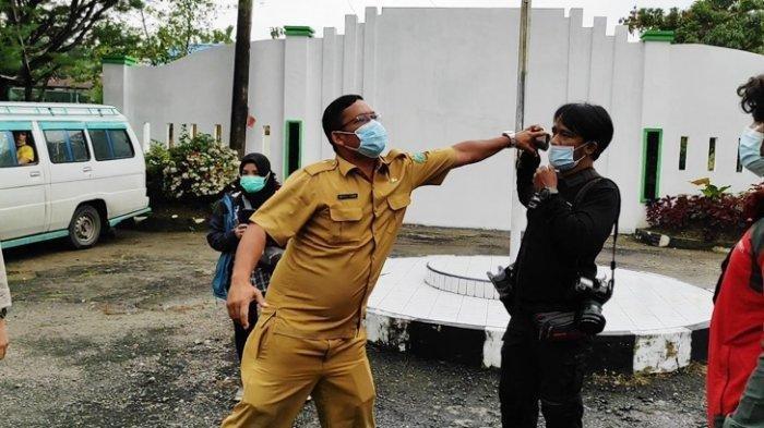 Vaksinasi ODGJ di RSJ Medan Diwarnai Insiden Ajakan Duel pada Wartawan
