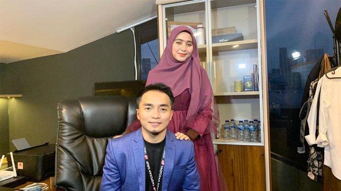 Taqy Malik dan Sherel Thalib saat ditemui di kantor Taqychan Group Indonesia, Mampang Prapatan, Jakarta Selatan, Minggu (14/3/2021).