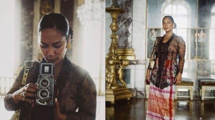 Pakai Kebaya dan Kain Sarung, Intip Penampilan Tara Basro Berlibur di Perancis