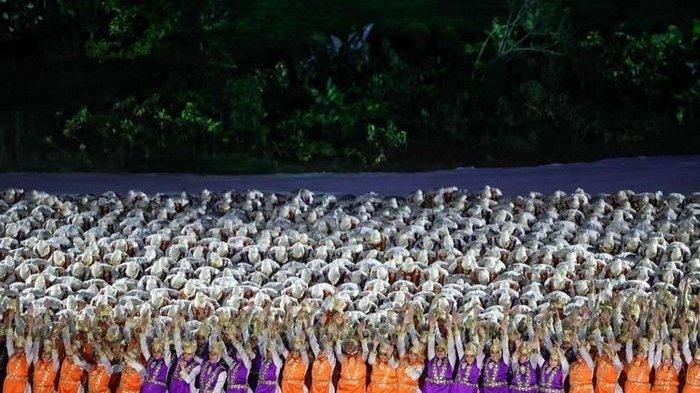 Cerita Salah Satu Penari Ratoeh Jaroe di Balik Layar Opening Ceremony Asian Games 2018