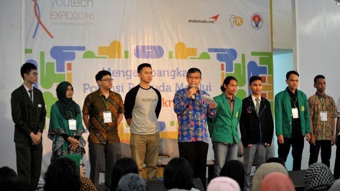 Tarik Minat Enterpreneur Muda Kemenpora Gelar Youtech Expo 2016